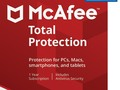 $34.99 (reg $100) McAfee Total Protection - 10 Devices