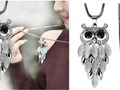 Owl Pendant Necklace ONLY $4.64 Shipped