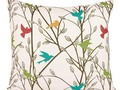 Colorful Bird Pillow Cover $1.75 + Free Shipping