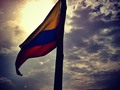 SUNSET #igers_orgullocolombiano #mibandera #diadeindependencia #barranquilla #colombia #sun #sky #cloud