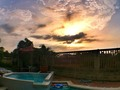SUNSET SANTA VERÓNICA #pool #sunday #sky #picoftheday #barranquilla #enmicolombia #colombia #ig_colombia