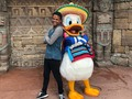 "Donald is so cute and friendly 😂 #orlando ""#Dominican #summer @gloexdr"