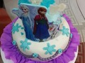 Mini torta de frozen Pedidos al 04120108023