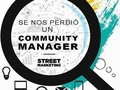La Agencia de Marketing Digital @streetmarketing está buscando Community! Escribe y envía tu CV a Jennileyn@gmail.com (Caracas, Venezuela)