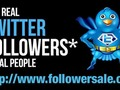 Boost up your online business while tweeting to lots of Real Twitter Followers >>