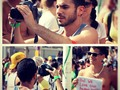 Working on my new video for Russia. Gay parade 2012. Check out my video on my youtube