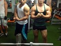 Con el mas gay del Gym @cesarecheverry13