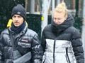 Joe Jonas and Sophie Turner Brave the Elements as They Take a Snowy Stroll in NYC