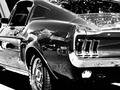 68 fastback #ford #mustang #fastback #blackandwhite
