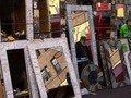 Mirrors #newyork #nyc #manhattan #mirror #reflection #reflections #citylife #lifeinthecity #fleamarket