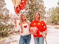 Galentine's Or Momlentine's? Who cares. She is my Favorite Girl in the world. Mommy.👩‍👧👭🏼 #likemotherlikedaughter . . HAPPY Galentine's 😍 . . Sweaters: @sheinofficial . Code: SVD703 (Extra 15% off any purchase) . #SHEINgals