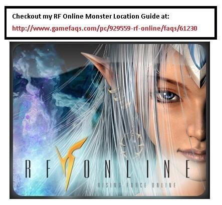 RF Online NPC Locations Guide | RedGage