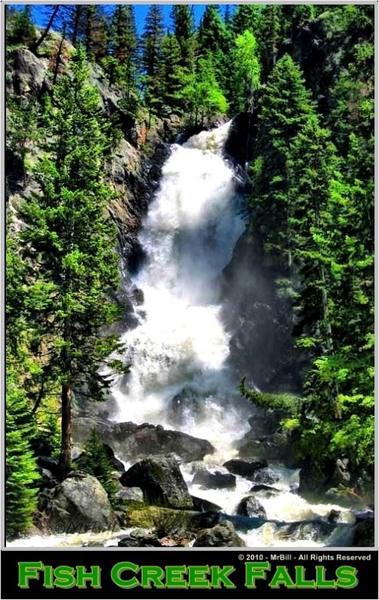 Fish creek falls redgage for Fish creek falls