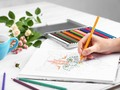 Relieve Stress With Wonderful Adult Coloring Books