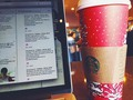 Living that millennial life . . . #coffee #Starbucks #twitter #work #coffeeshop #tweets