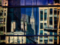 Window Reflection, 8th Avenue & 17th Street, NYC