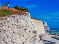 "I'm continuing with my series of images of the ""White Cliffs Of Sussex,"" very much a favorite part of the world where I feel quite at home. I'm hoping y'all don't get too bored with them. It would seem that, after returning from my annual trips over, that on my return I never spent enough time editing so I'm finding a rich backlog of images to work on dating all the way back to 2007. And then a few that I felt I could do better than my original edits. Still so many folks post the same thing for ever and have tens of thousands of followers. LOL. This won't last that long before I go off on another tangent 🤗 I do rather like being eclectic!    #whitecliffs #sussexcliffs #sou #southdowns #sea #sevensisters #seamist #sussexlandscapes #sussexphotography #beach #country #pixielatedpixels #chrislordnyc #chrislord #travelingphotographer #creativeimagery #artphotography #printsforsale #wallartideas #traveladdict #visitsussex #sussextourism #countrywalks #rural_love #beautifuldestinations #eastsussexwalks #eastsussex #brighton_clicks #xceptionaledits #fineartphotography — view on Instagram"