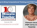 5 Ways to Bring Computational Thinking and STEM Together via coolcatteacher