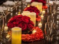 #redroses always have been the must romantically way to create a memory. #sandysilveraevents #dinnertablesettings #miami🌴 #engagementparty