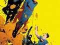 Second issue, second Earth. Superman and Batman…