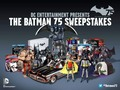 If you haven't entered the # Batman75…