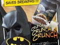 Let the Caped Crusader save your breakfast with…