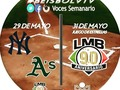1 1/2 entradas @MLB #BeisbolVTV: @Yankees 0-0 @Athletics